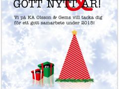 Vi önskar dig en God Jul & ett Gott Nytt År!